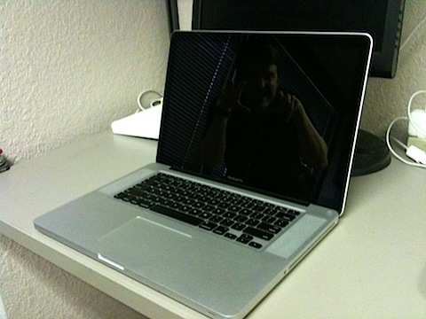 Haunted MacBook Pro