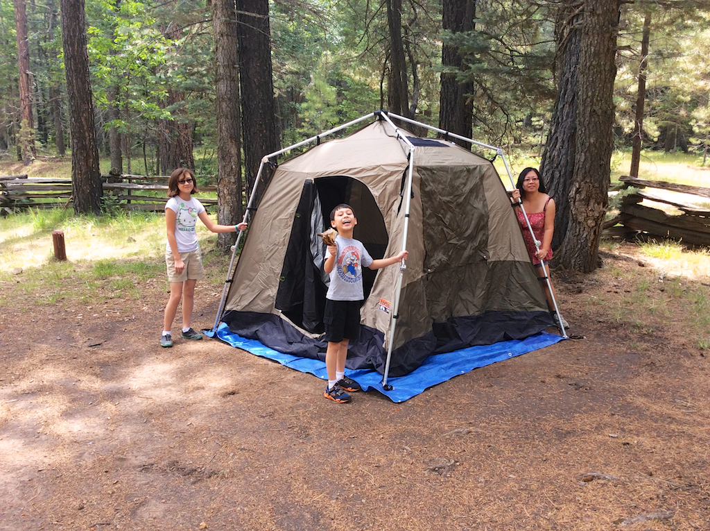 ... put up the tent. July 14 2014 1024 × 765 ... & The kids pretending to help put up the tent | Lone Locust Productions