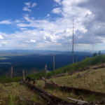 View from the Mogollon Rim Pano